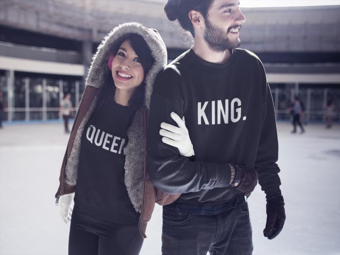 King Queen Sweaters