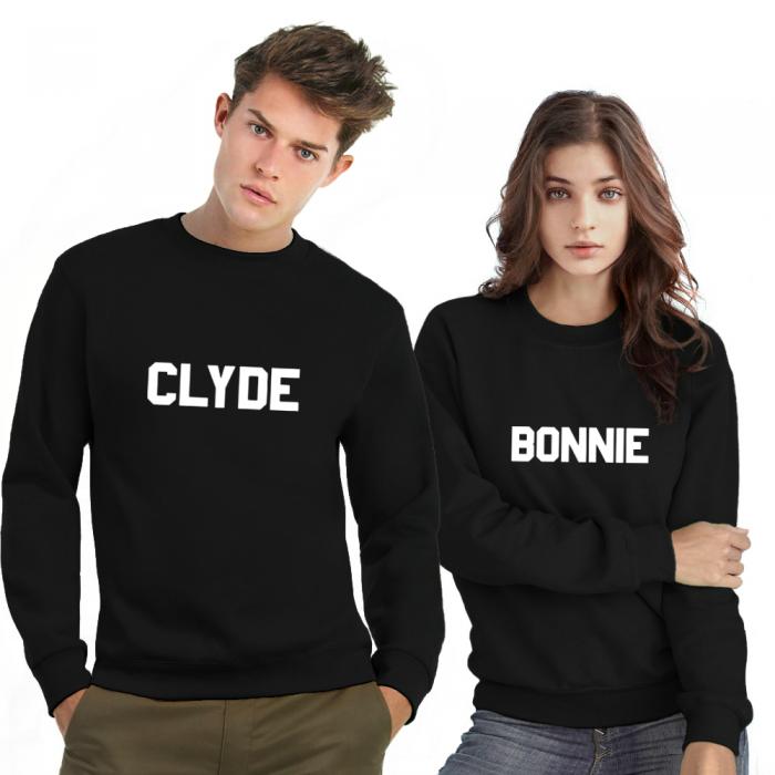 Bonnie Clyde sweater blocks
