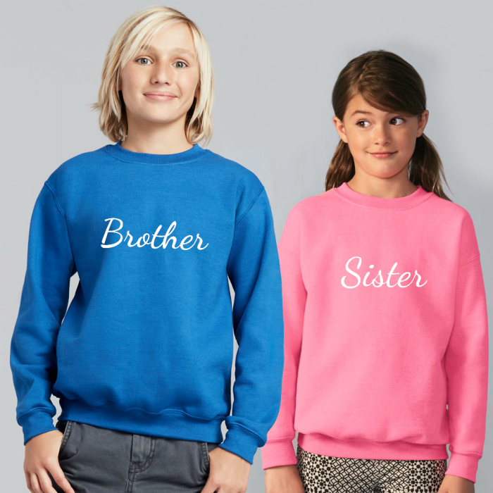 Brother Sister sweater trui
