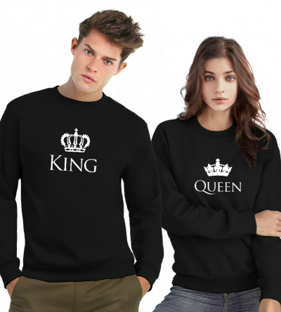 King & Queen sweater Kroon