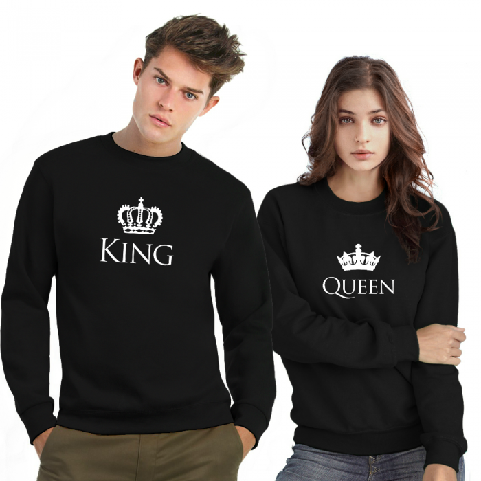 King Queen sweater trui kroon