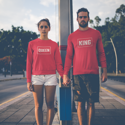 King & Queen Sweaters Box Set Rood