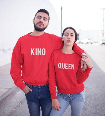 King Queen Truien Set Rood