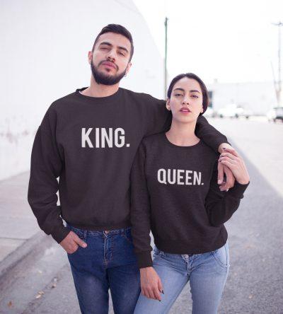 King Queen truien setje